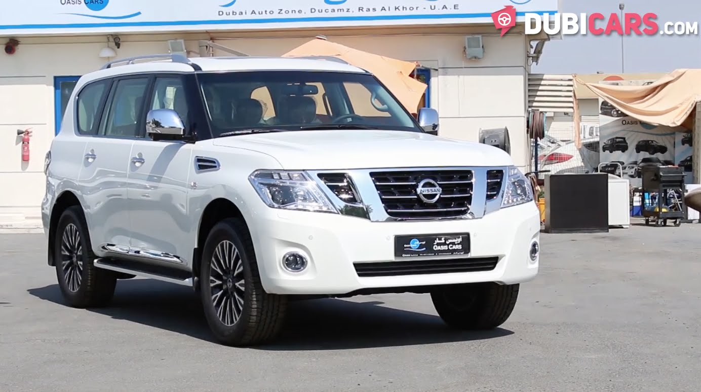 Nissan Patrol LE Platinum City 2017MY